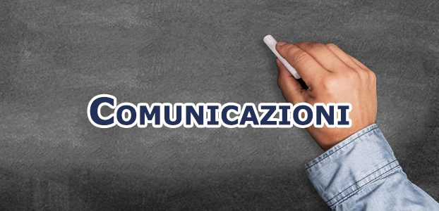 Comunicazioni Settembre 2020